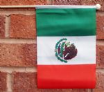 MEXICO - HAND WAVING FLAG (MEDIUM)